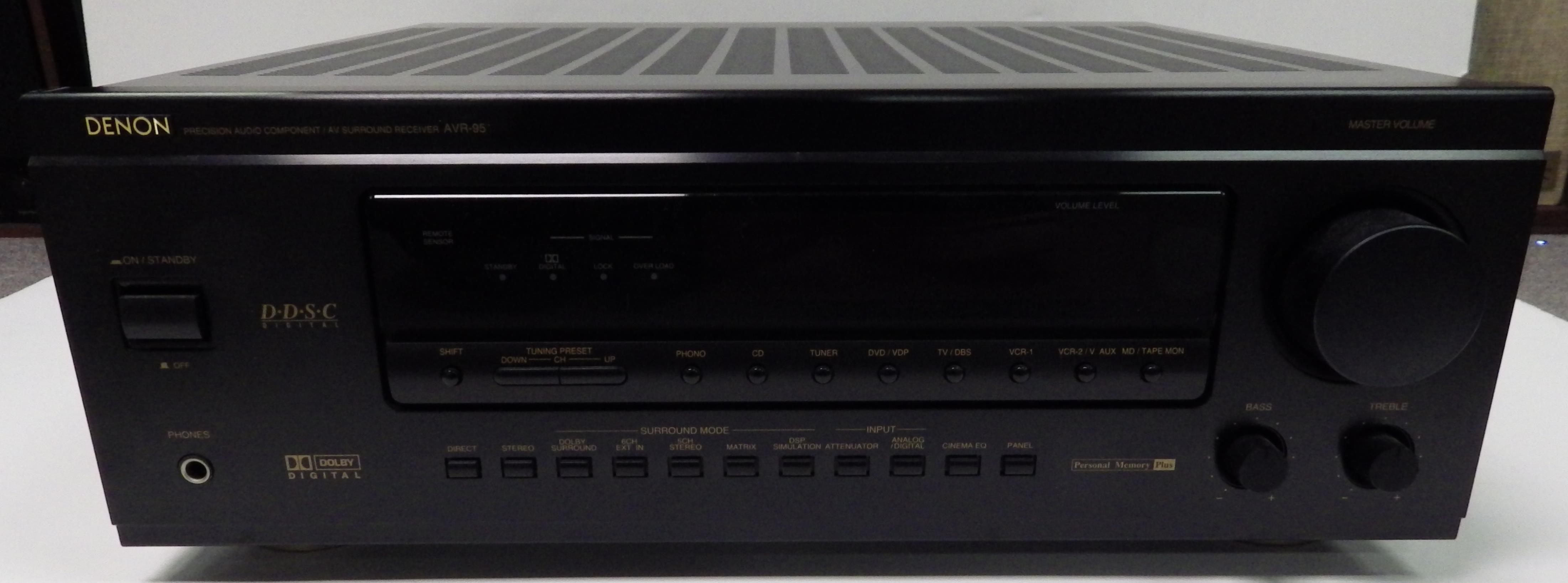 Play it again sam receivers surround sound receivers denon avr 95 fandeluxe Gallery