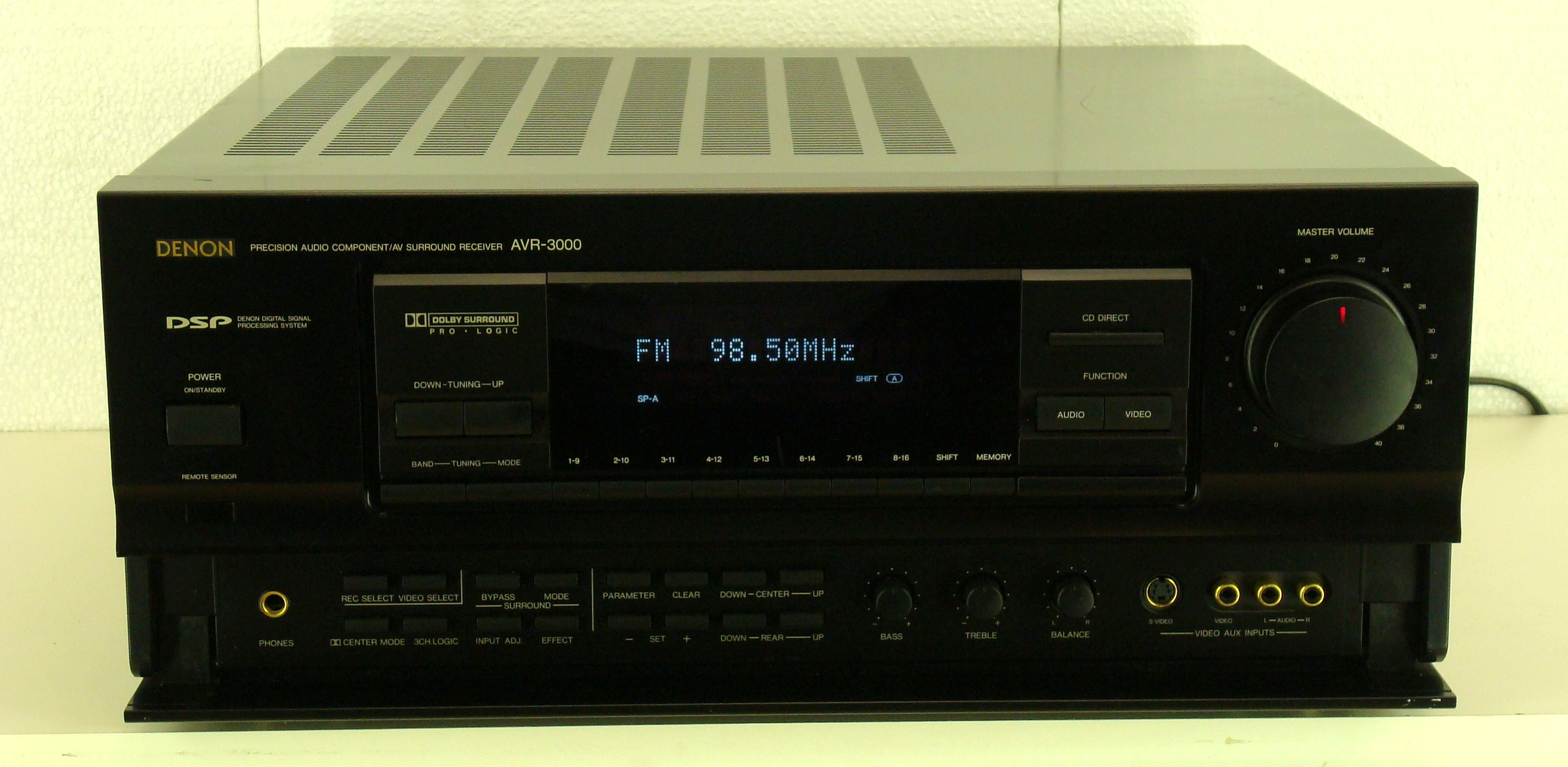 play it again sam receivers surround sound receivers rh playitagainsam com denon avr 3000 user manual denon avr 3000 specs