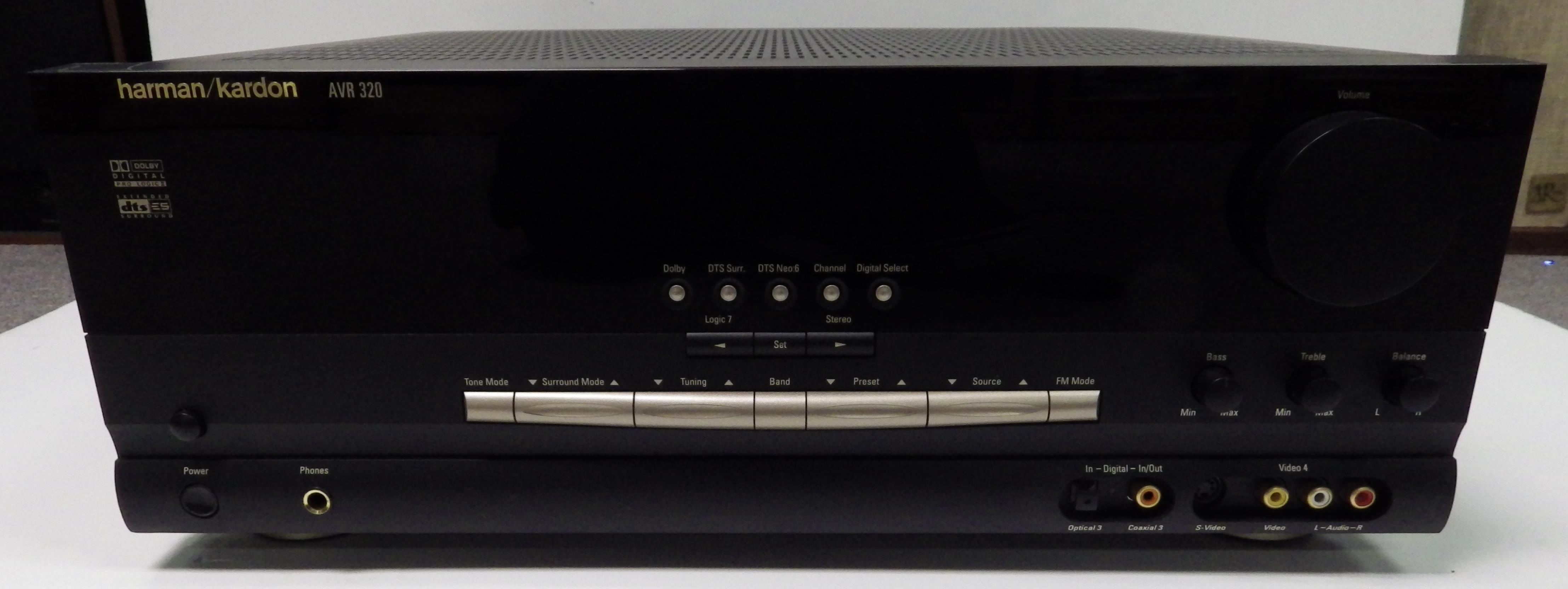 play it again sam receivers surround sound receivers rh playitagainsam com Harman Kardon AVR 320 Review HK 320